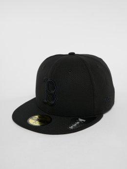 New Era Gorra plana MLB Diamond Bosten Red Sox 59 Fifty Fitted Cap negro