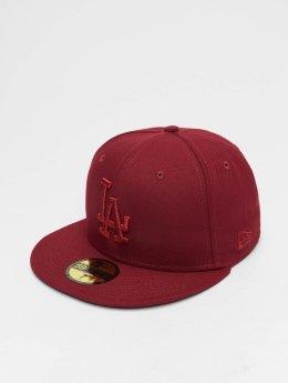 New Era Gorra plana MLB League Essential Los Angeles Dodgers 59 Fifty rojo