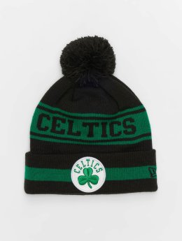 New Era gorro de punto NBA Team Jake Bosten Celtics Cuff negro