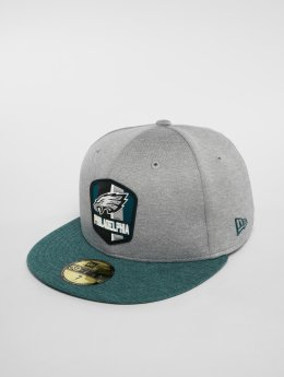 New Era Hip hop -lippikset New Era NFL Philadelphia Eagles 59 Fifty harmaa
