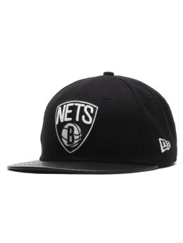 New Era Hip hop -lippikset Team Pu Canvas Brooklyn Nets  musta