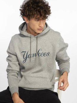 New Era Hoodies MLB Team New York Yankees šedá
