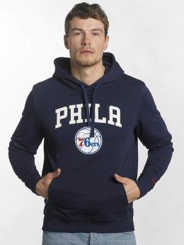 New Era Hoody Team Logo Philadelphia 76ers blauw