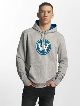 New Era Tip Off Golden State Warriors Hoody Light Grey Heather