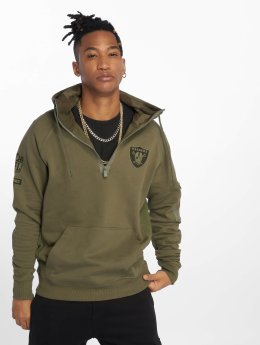 New Era Hoody Nfl Camo Collection olijfgroen