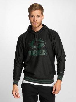 New Era Hoody Dryera Green Bay Packers schwarz
