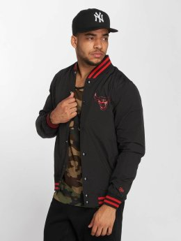 New Era Lightweight Jacket NBA Chicago Bulls Varsity black