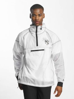 New Era Lightweight Jacket Snow Stealth NY Yankees Smock white