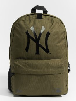 New Era Plecaki MLB Stadium New York Yankees oliwkowy