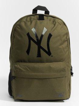 New Era Plecaki MLB Stadium New York Yankees oliwkowy