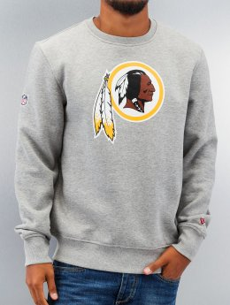 New Era Pullover Team Logo Washington Redskins grau