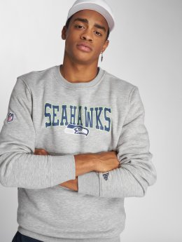 New Era Pullover NFL Team Seattle Seahawks gray