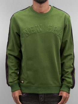 New Era Pullover Crafted  grün