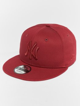 New Era Snapback MLB Essential New York Yankees 9 Fifty èervená