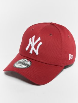 New Era Snapback New Era MLB Essential New York Yankees 9 Fourty Snapback Cap èervená