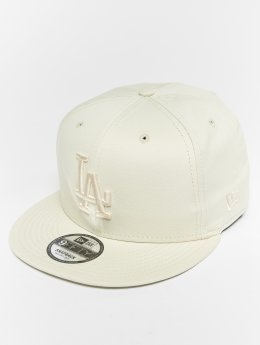 New Era Snapback Cap MLB Essential Los Angeles Dodgers 9 Fifty bianco