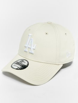 New Era Snapback Cap MLB Essential Los Angeles Dodgers 9 Fourty bianco