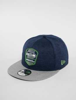 New Era Snapback Cap NFL Seattle Seahawks 9 Fifty blau