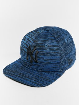 New Era MLB Eng Fit New York Yankees 9 Fifty Snapback Cap Light Royal/Black