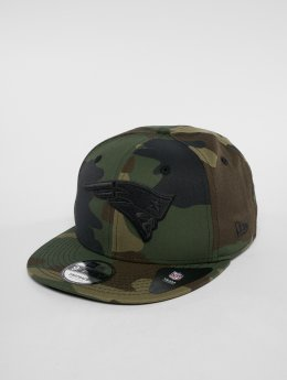 New Era NFL Camo Colour New England Patriots 9 Fifty Snapback Cap Woodland Camo/Black