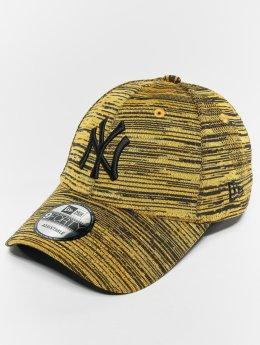 New Era Snapback Cap MLB Eng Fit New York Yankees 9 Fourty gelb