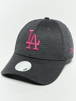 New Era Snapback Cap MLB Essential Los Angeles Dodgers 9 Fourty grau
