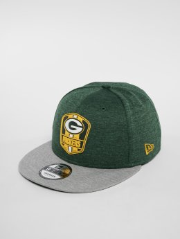 New Era NFL Green Bay Packers 9 Fifty Snapback Cap Offical Team Colour