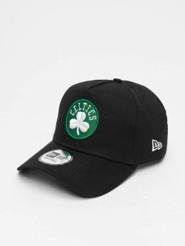 New Era Snapback Cap NBA Team Bosten Celtics 9 Fourty Aframe nero