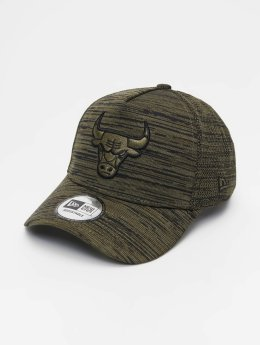 New Era Snapback Cap NBA Engineered Fit Chicago Bulls 9 Fourty Aframe olive