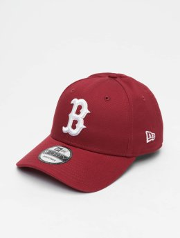 New Era Snapback Cap MLB League Essential Bosten Red Sox 9 Fourty rosso
