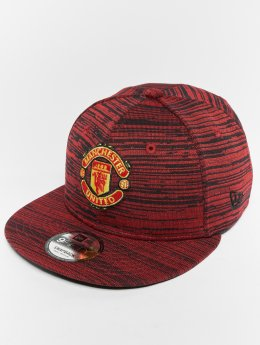 New Era Engineered Manchester United FC 9 Fifty Snapback Cap Scarlet
