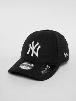 New Era Snapback Cap MLB Diamond New York Yankees 9 Fourty schwarz