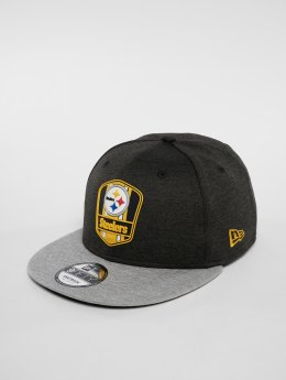 New Era Snapback Cap NFL Pittsburgh Steelers 9 Fifty schwarz