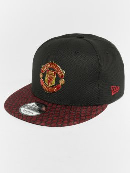 New Era Snapback Cap Hex Weave Vize Manchester United FC 9 Fifty schwarz