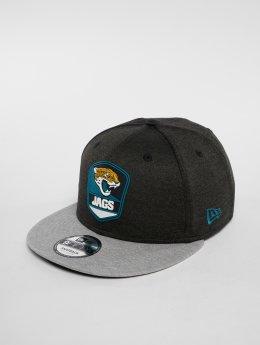 New Era Snapback Caps NFL Jacksonville Jaguars 9 Fifty šedá