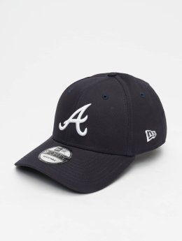 New Era Snapback Caps MLB League Essential Atlanta Braves 9 Fourty blå