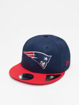 New Era Snapback Caps NFL Contrast Team New England Patriots 9 Fifty blå
