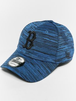 New Era Snapback Caps MLB Eng Fit Bosten Red Sox 9 Fourty blå