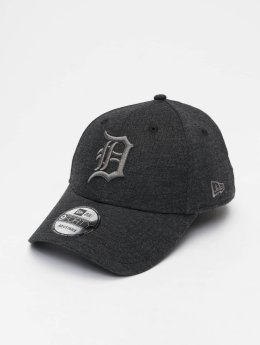 New Era Snapback Caps MLB Jersey Detroit Tigers 9 Fourty grå