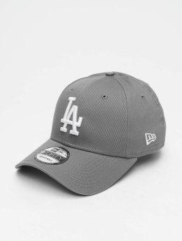 New Era Snapback Caps MLB League Essential Los Angeles Dodgers 9 Fourty grå