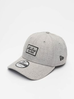 New Era Snapback Caps Heather 9 Fourty grå