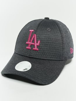 New Era Snapback Caps MLB Essential Los Angeles Dodgers 9 Fourty grå