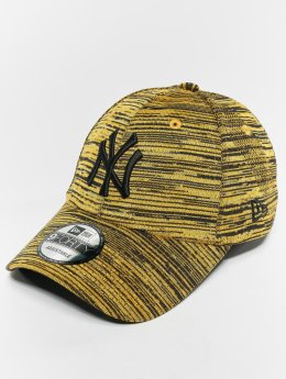 New Era Snapback Caps MLB Eng Fit New York Yankees 9 Fourty gul