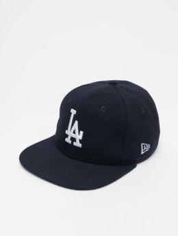 New Era Snapback Caps MLB Winter Utlty Melton Los Angeles Dodgers 9 Fifty modrý