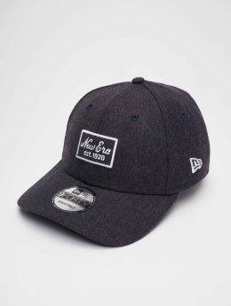 New Era Snapback Caps Heather 9 Fourty modrý