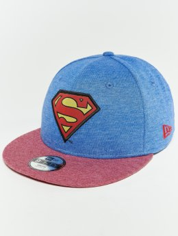New Era Snapback Caps Warner Bros Superman 9 Fifty modrý