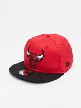 New Era Snapback Caps NBA Contrast Team Chicago Bulls 9 Fifty rød
