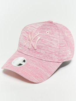 New Era Snapback Caps MLB Eng Fit New York Yankees 9 Fourty vaaleanpunainen