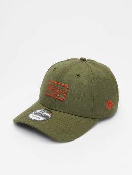 New Era Snapback Caps Heather 9 Fourty vihreä