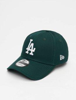 New Era Snapback Caps MLB League Essential Los Angeles Dodgers 9 Fourty zelený